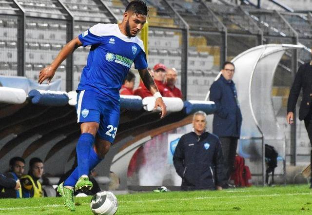 Il centrocampista Francesco Urso, foto: Sandro Veglia - MateraCalcioStory.it