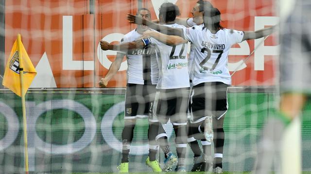 L'esultanza del Parma, FOTO: FONTE WEB
