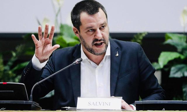 Il ministro dell'interno Matteo Salvini, foto: Fonte Web