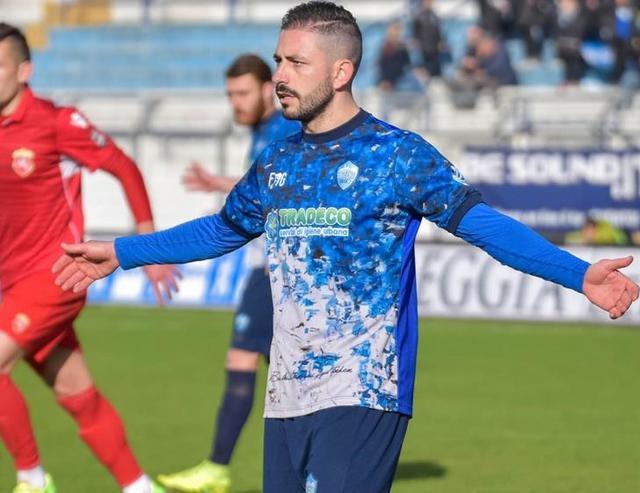L'esterno offensivo Nicola Strambelli, foto: Emanuele Taccardi