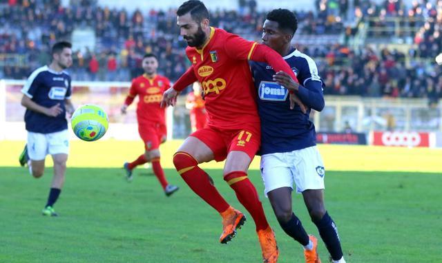 Il centrocampista Giuseppe Statella, foto: Romana Monteverde
