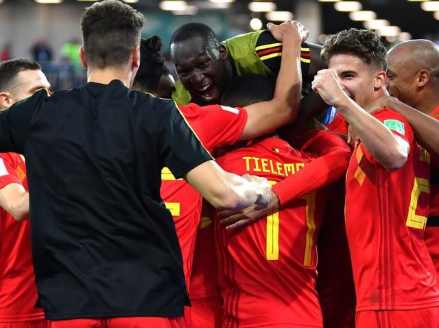 L'esultanza del Belgio, foto: Fifa.com