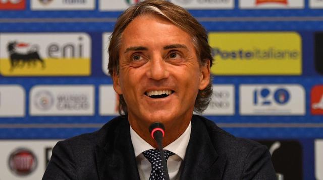 Il ct degli azzurri Roberto Mancini, foto: Figc.it