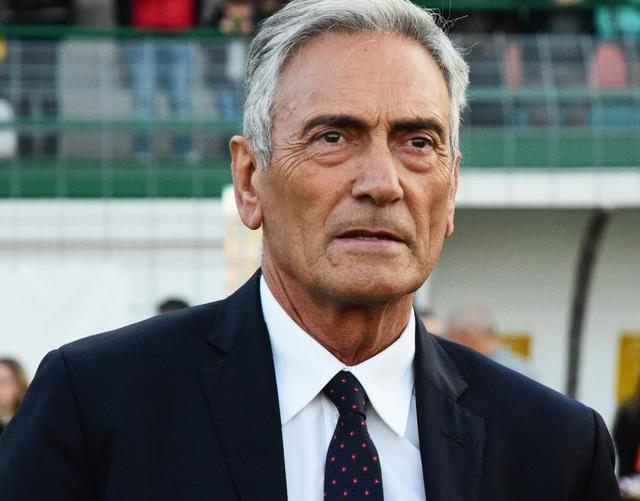 L'ex presidente Gabriele Gravina, foto: Fonte Web