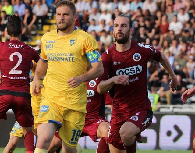 Una fase del match Cittadella-Frosinone, foto: Fonte Web