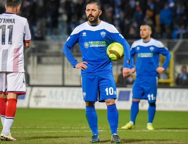L'attaccante Nicola Strambelli, foto: Emanuele Taccardi