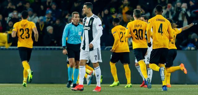 Una fase di Young Boys-Juventus, foto: Uefa.com