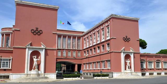 La sede del Coni, FOTO: FONTE WEB
