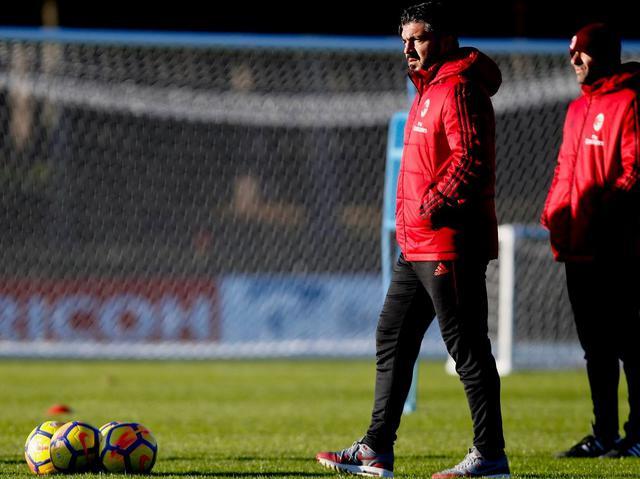 Il tecnico Gennaro Gattuso, foto: AcMilan.com