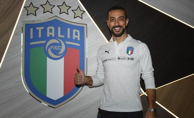 L'attaccante Fabio Quagliarella, foto: Figc.it