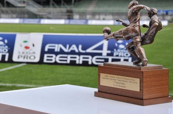 Il trofeo del campionato Berretti, foto: Fonte Web