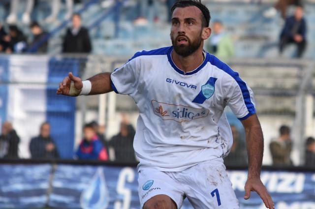 L'attaccante Luca Orlando, foto: Sandro Veglia