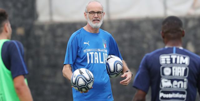 Il ct Paolo Nicolato dell'Under 21, FOTO: FIGC.IT