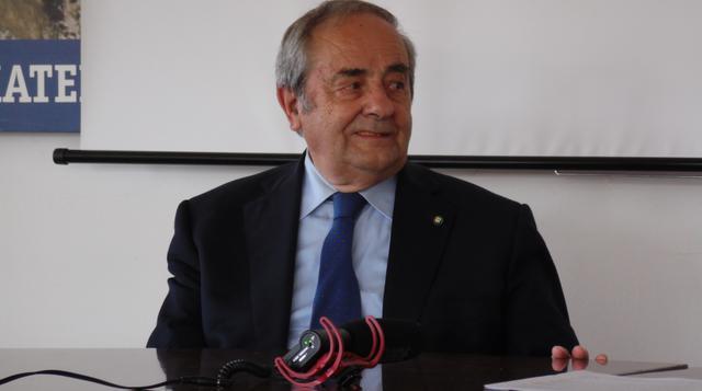 Il sindaco Raffaello De Ruggieri, FOTO: TUTTOMATERA.COM