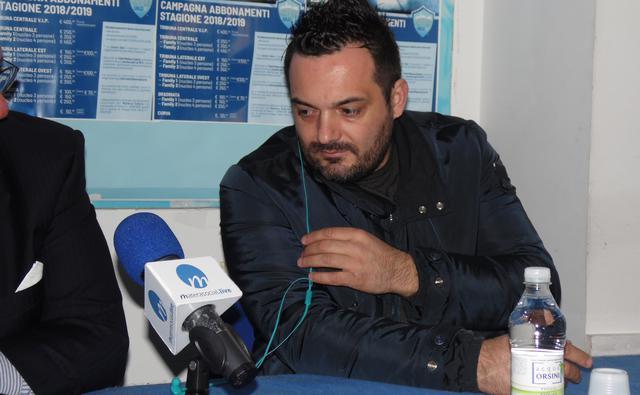 Il neo ds Damiano Genovese, foto: TuttoMatera.com