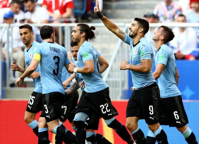 L'esultanza dell'Uruguay, foto: Fonte Web