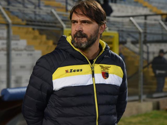 Il tecnico dei falchetti Luca D'Angelo, foto: Emanuele Taccardi