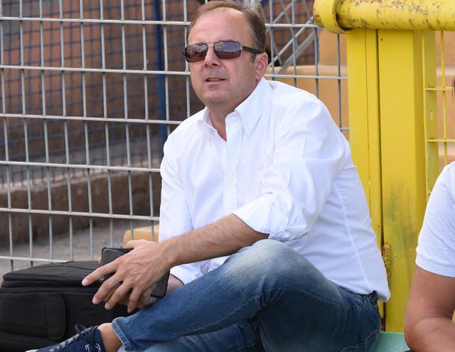 Il team manager Nunzio Papangelo, foto: Sandro Veglia