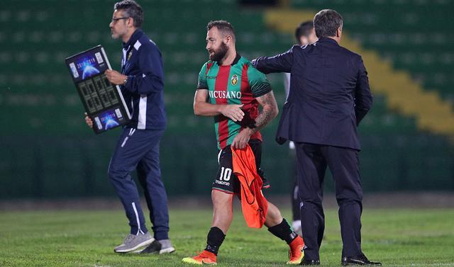 L'attaccante Daniele Vantaggiato, foto: Fonte Web