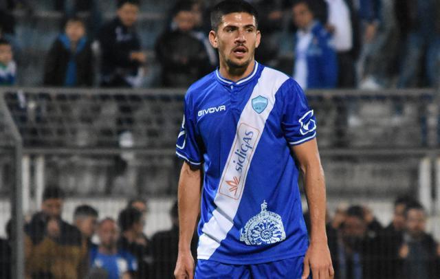 L'attaccante Gaston Ezequiel Corado, foto: Fonte Web