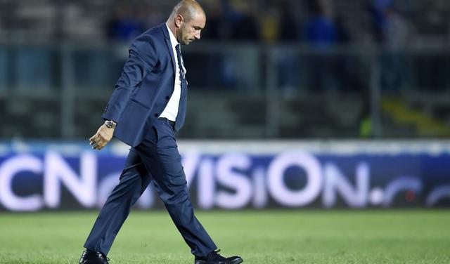 Il tecnico Cristian Brocchi, FOTO: FONTE WEB