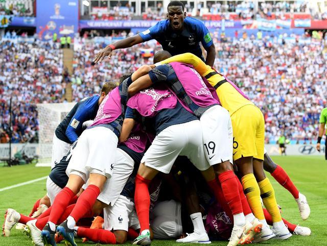 L'esultanza della Francia, foto: Fifa.com