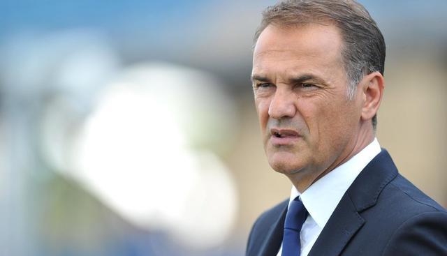 L'allenatore Vincenzo Vivarini, FOTO: FONTE WEB