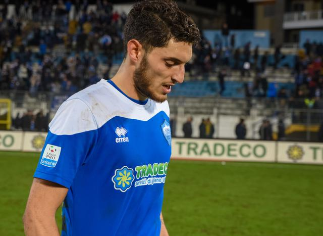 Il centrocampista Giuseppe Maimone, foto: Emanuele Taccardi