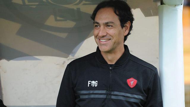 L'allenatore Alessandro Nesta, FOTO: ACPERUGIACALCIO.IT - PROFILO FACEBOOK UFFICIALE