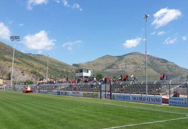 Lo stadio Purificato di Fondi, foto: Fonte Web