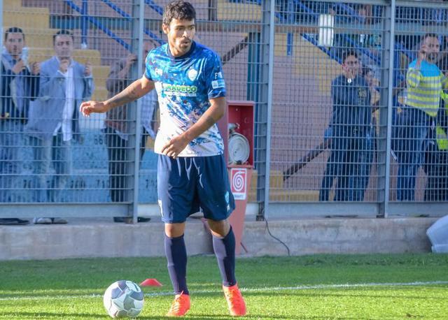 L'attaccante Adriano Louzada, foto: Emanuele Taccardi