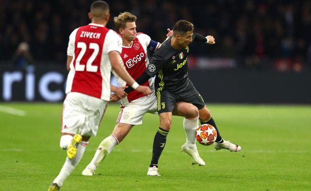 Una fase di Ajax-Juventus, foto: Fonte Web