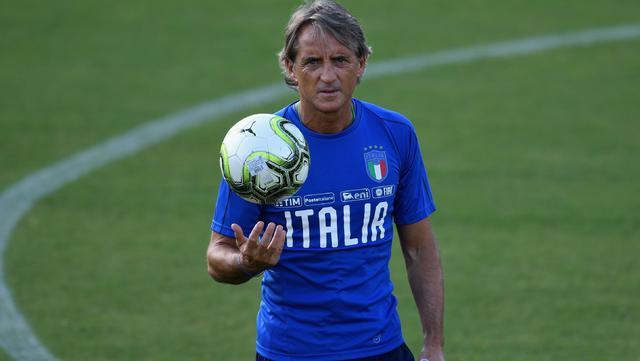Il ct Roberto Mancini, FOTO: HEARSTAPPS.COM - FONTE WEB