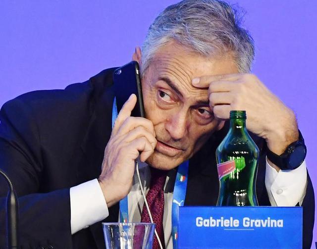 Il presidente della Figc Gabriele Gravina, foto: Fonte Web