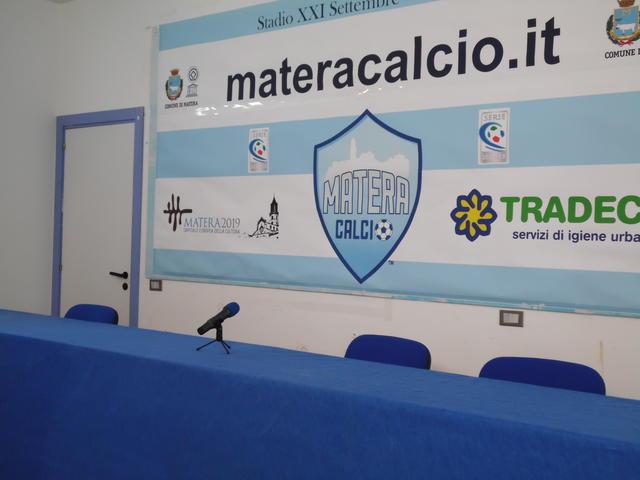 La sala stampa dello stadio XXI Settembre, foto: TuttoMatera.com