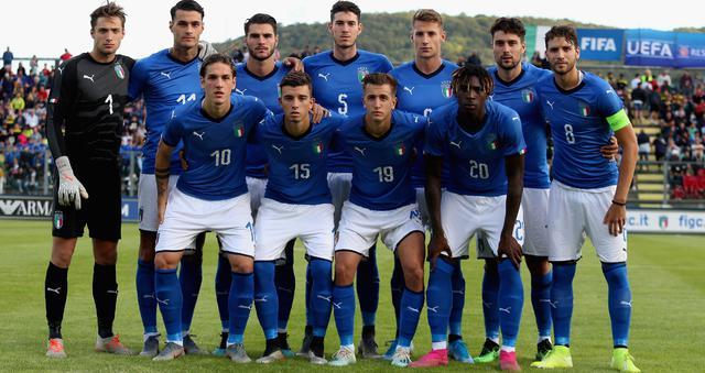 L'undici dell'Under 21, FOTO: FIGC.IT