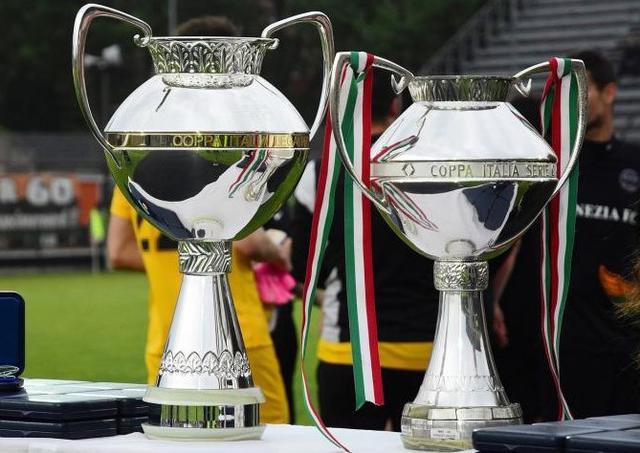 Il trofeo della Coppa Italia Serie C, foto: Fonte Web