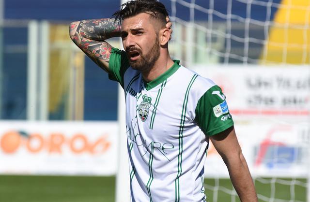 L'attaccante Giuseppe Genchi, foto: Fonte Web
