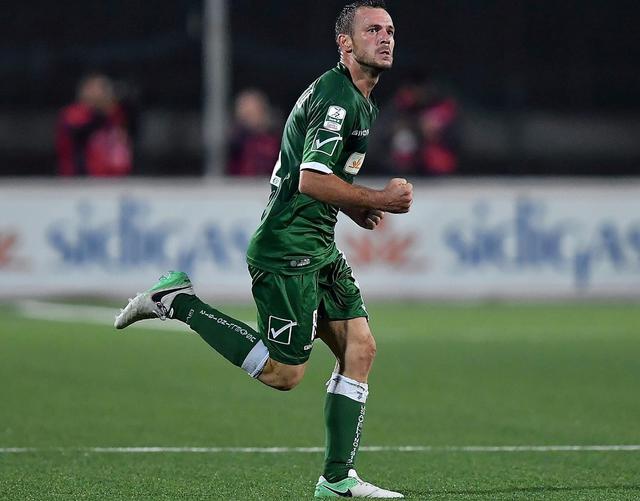 Il centrocampista Angelo D'Angelo, foto: Fonte Web