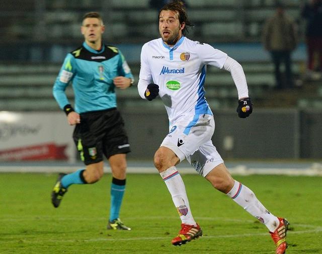 L'attaccante Gianvito Plasmati in azione, foto: Fonte Web