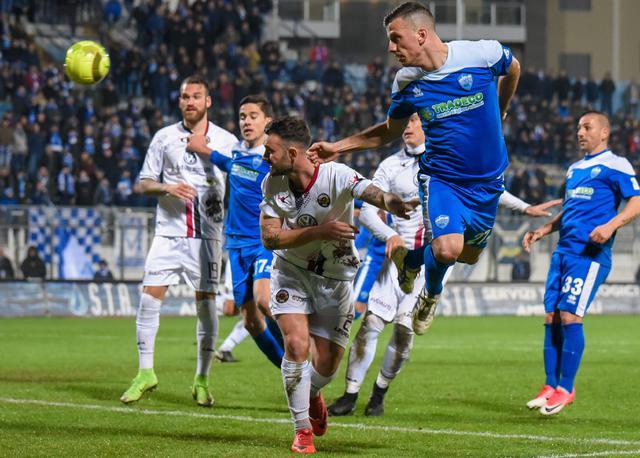Una fase del match di ieri sera, foto: Emanuele Taccardi