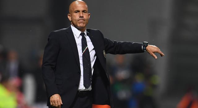 Il ct Luigi Di Biagio, FOTO: CLAUDIO VILLA-FIGC.IT