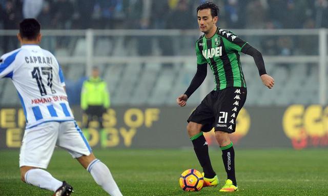 Il centrocampista Alberto Aquilani, foto: Fonte Web