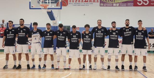 Il roster dell'Olimpia Matera, FOTO: ROBERTO LINZALONE-OLIMPIAMATERA.IT
