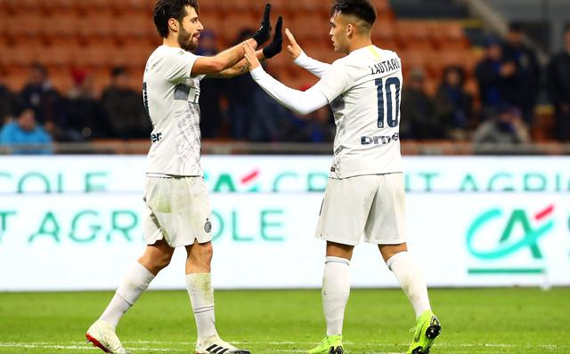 L'esultanza dei neroazzurri, foto: Inter.it