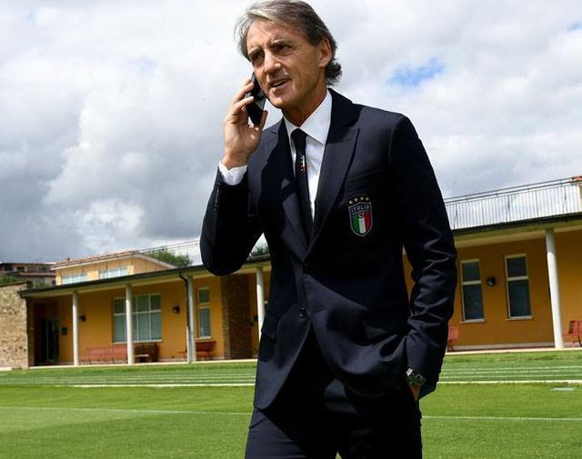 Il neo ct Roberto Mancini, foto: Figc.it