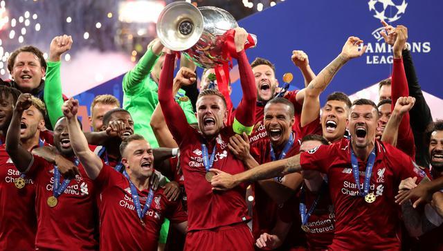Il Liverpool in festa, FOTO: UEFA.COM - ALEXANDER ASSENSTEIN