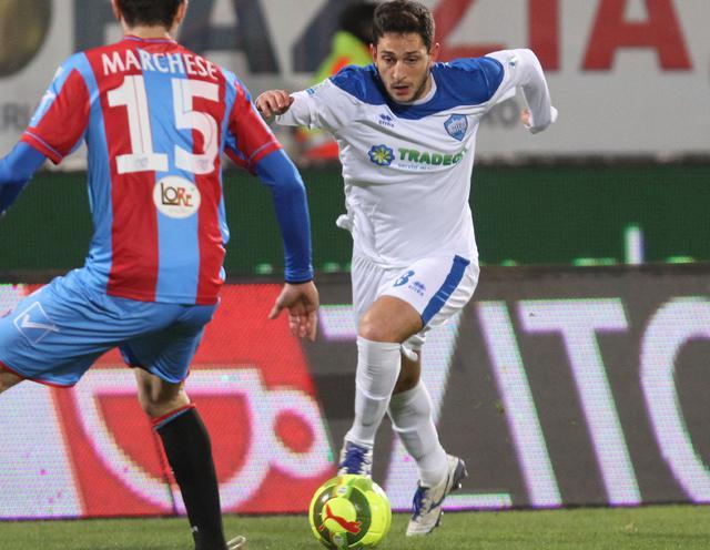 Il centrocampista Francesco Salandria, foto: Nino Russo