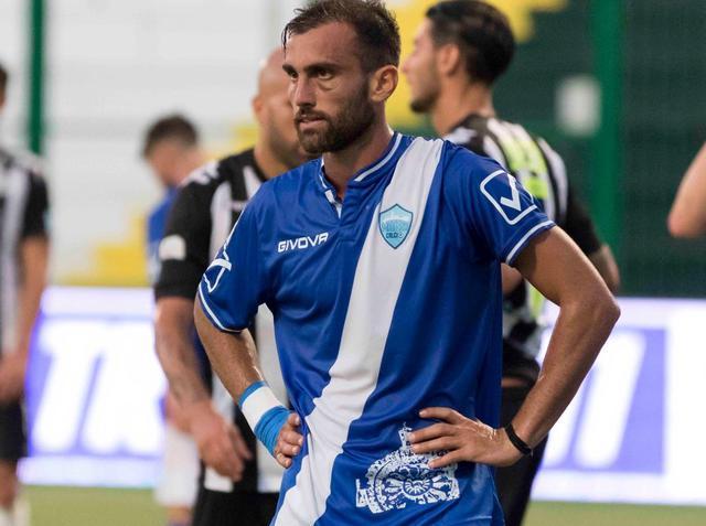 L'attaccante Luca Orlando, foto: Cristian Costantino
