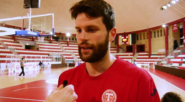 Il cestista Valerio Staffieri, FOTO: FONTE WEB